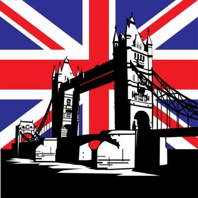 Naklejka London Bridge