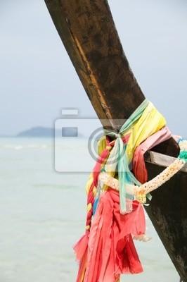 Naklejka Longtail łodzi, Phi Phi Island, Tajlandia