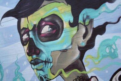 Naklejka look deep, art on the wall