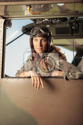 Lotnik kobieta