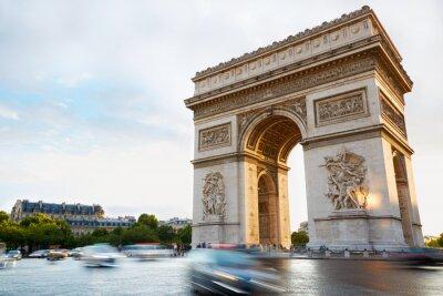 Naklejka Łuk Triumfalny w Paryżu południu