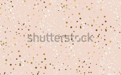 Naklejka Luksusowego śniegu bladego koloru bezszwowa deseniowa wektorowa ilustracja dla zimy świętowania. Nowy rok abstrakcyjny motyw na tle, papierze pakowym, tkaninie, projektowaniu powierzchni, druku i Inte