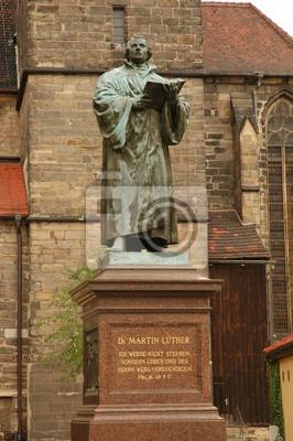 Luther-Denkmal w Erfurcie