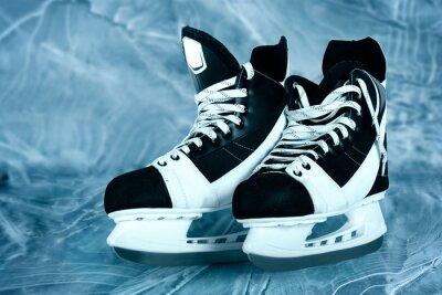 Naklejka Łyżwy hokejowe męskie