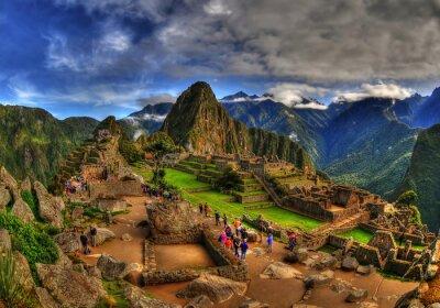 Naklejka Machu Picchu w HDR