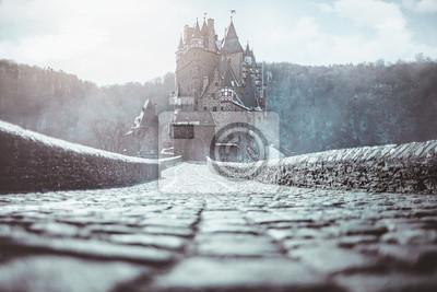 Naklejka magiczny zamek