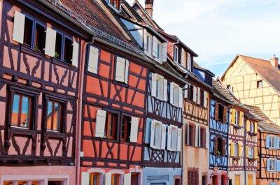 Naklejka Maison colorée d'Alsace