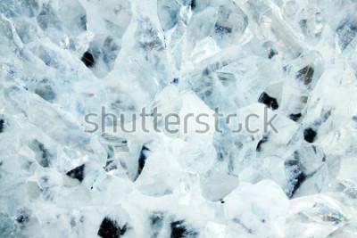 Naklejka Makro- krótkopęd błękitny agata kopalny kamień