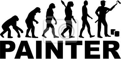 Malarz ewolucyjny z tytułem pracy