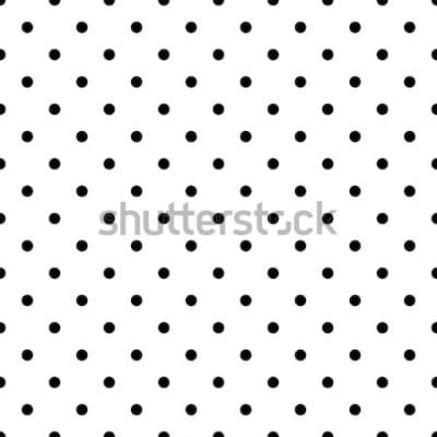 Naklejka Małe kropki tło wzór