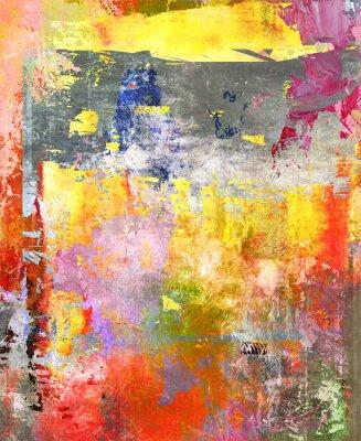 Naklejka malerei abstrakt Mischtechnik
