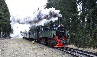 Naklejka Mallet lokomotywa