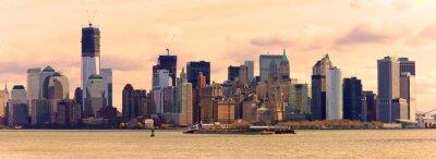 Naklejka Manhattan, New York City. USA.