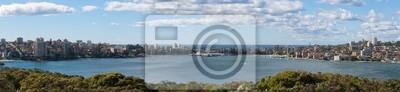 Naklejka Manly Wharf Panoramiczny