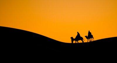 Naklejka Maroko pustynia