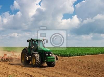 Naklejka Maszyny rolnicze