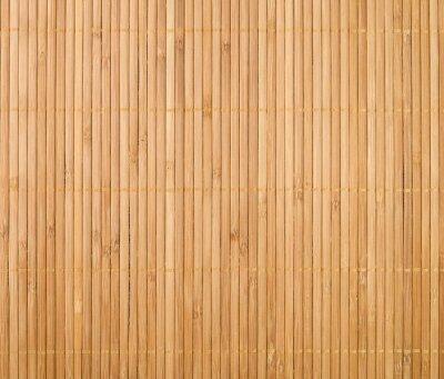 Naklejka mata bambusowa tle