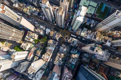 Naklejka Miasto Hongkong