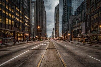 Naklejka Michigan Avenue