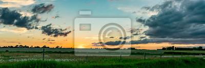 Naklejka Midwest Sunset Panoramic