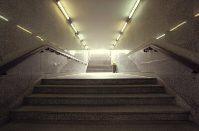 miejskie przejście podziemne miasto