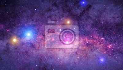Naklejka Milky Way mozaiki.