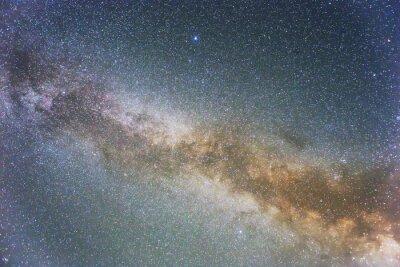 Naklejka Milky Way w tle