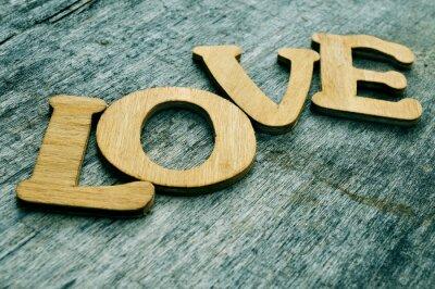 Naklejka miłość