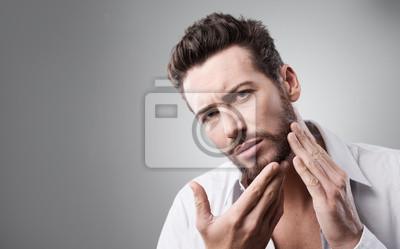 Młody mężczyzna Skincare