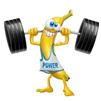 Naklejka Moc banana