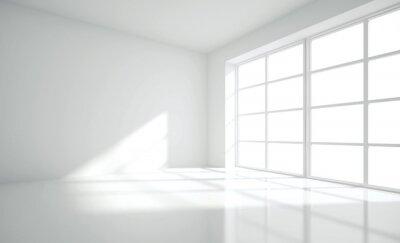 Naklejka Modern empty interior