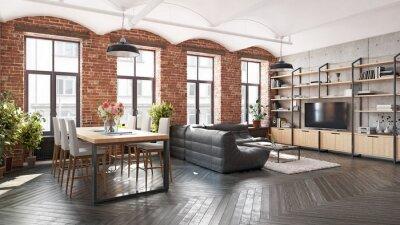 Naklejka modern kitchen interior