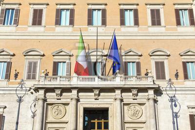 Montecitorio Pałac w Rzymie