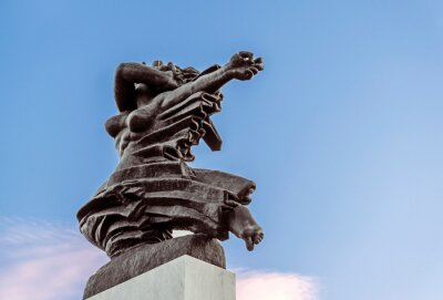 Naklejka Monument of Gratitude to France, Belgrade Fortress, Kalemegdan Park