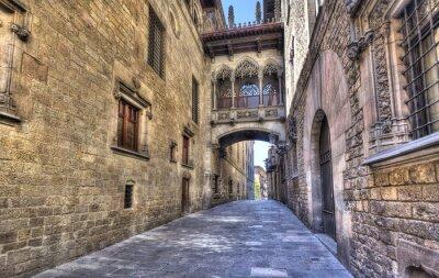 Naklejka Most w Barcelonie