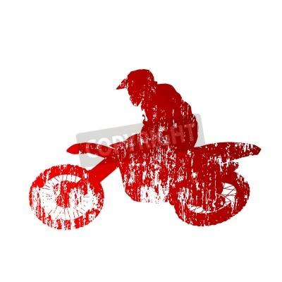 Naklejka Motocross