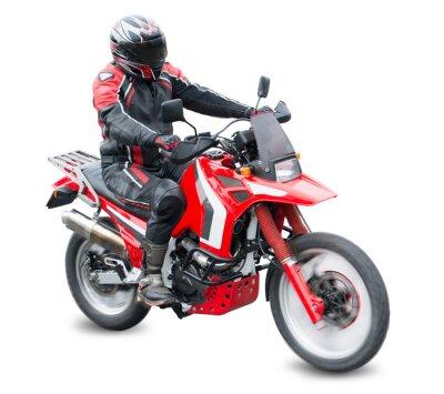 Naklejka Motorcycle racer