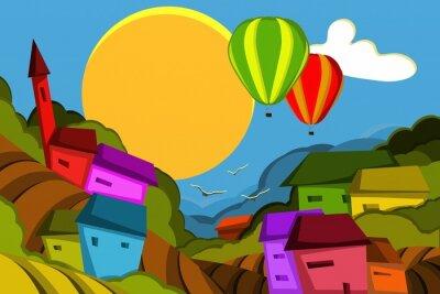 Naklejka mungolfiere su Villaggio