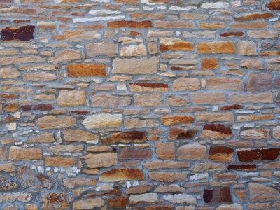 Naklejka Mur z kamieni