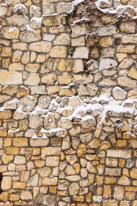 Naklejka mury starej fortecy