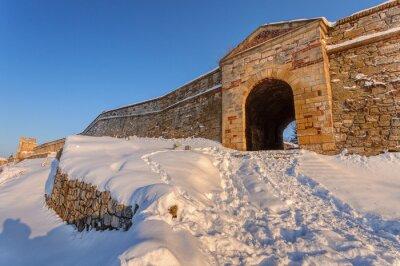 mury starej twierdzy