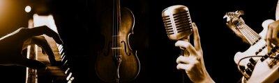 Naklejka Music.