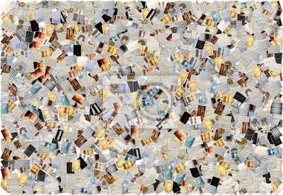 Naklejka Musica - collage