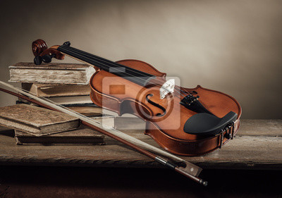 Muzyka i sztuka martwa natura