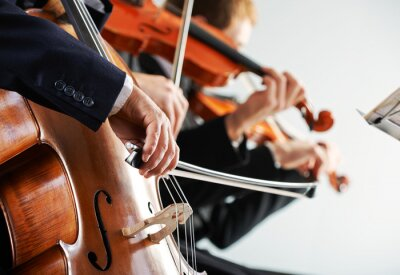 Naklejka Muzyka klasyczna koncert