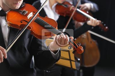 Muzyka klasyczna. Skrzypków w koncercie