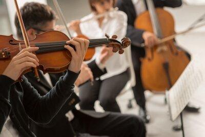 Muzyka klasyczna wydajność orkiestrę symfoniczną