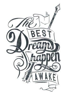 Naklejka Najlepsze sny