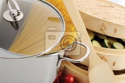 narzędzia do gotowania makaronu włoski