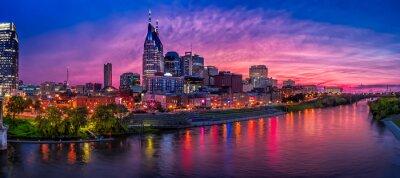 Naklejka Nashville skyline